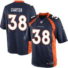 Quinton Carter Limited Jersey-80%OFF Nike Quinton Carter Limited Jersey at Broncos Shop. (Limited Nike Men's Quinton Carter Navy Blue Jersey) Denver Broncos Alternate #38 NFL Easy Returns.
