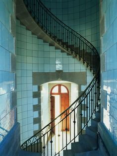 Lighthouse interior, photo by Jean Guichard