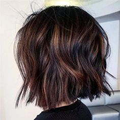15 wavy short hairstyles for chic ladies Long Bob Hairstyles chic Hairstyles Ladies Short Wavy Ombre Hair Long Bob, Balyage Short Hair, Wavy Bob Hairstyles, Chic Hairstyles, Short Highlighted Hairstyles, Highlighted Bob, Short Wavy Hairstyles For Women, Short Hair Trends, Ladies Hairstyles