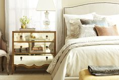 Let's Reflect: Mirrored Furniture & Accents