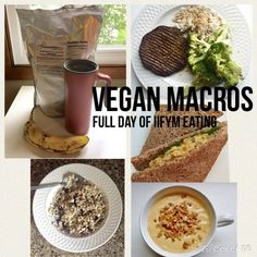 Vegan Macros - Full Day of Eating Vegan IIFYM #10 -HollyBrownFit.com