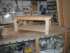 Build Rustic Coffee Table