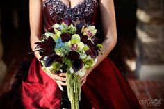 tim burton wedding bouquet - Google Search