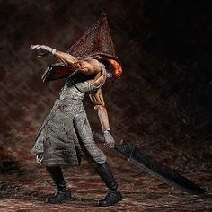Silent Hill 2 Figma Figur Red Pyramid Thing 20 cm #silenthill #pyramidhead #silent #hill #silenthill2 Silent Hill - Hadesflamme - Merchandise - Onlineshop für alles was das (Fan) Herz begehrt!