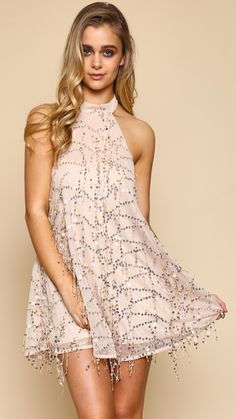Melody Rose Gold Dress
