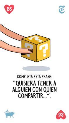 Juega bien estas cartas: las 36 preguntas para enamorarse de cualquiera – Español