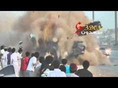 Horrifying Camry 2012 Accident in Saudi Arabia - 25-5-2012 (drift)