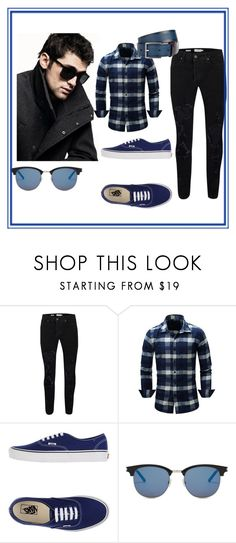 """""""Men"""" by aziraziza ❤ liked on Polyvore featuring DKNY, Topman, Vans, Yves Saint Laurent, Paul Smith, men's fashion, menswear, rosegal, yoins and shein"""