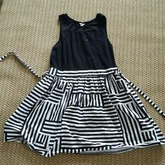 Justice black and white dress (sz 20) from the tween/teen store, Justice. this is a girl's size 20 (not women's!)  very cute spring or summer dress. worn only once; excellent condition! please ask all questions prior to buying. Justice Dresses