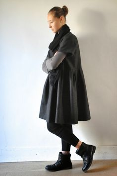 """Robe """"enfant"""" drap gris"""