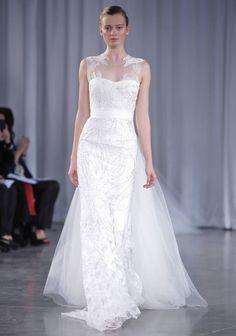 Monique Lhuillier | Fall 2013 | Wedding Dresses Check out my wedding blog! www.froufroulebleu.com :-)