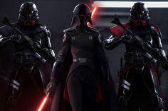 Star Wars Jedi Fallen Order Concept Art by Jordan Lamarre-Wan Star Wars Jedi, Star Wars Art, Last Of Us, Second Sister Star Wars, Jedi Training, Gotham, One Punch Man, Game Art, Starwars