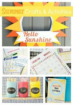 Fun Summer Crafts and Activities