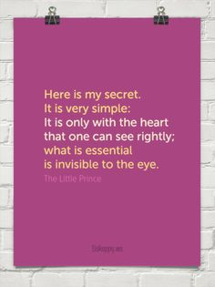Love. :: See rightly with your heart by The Little Prince