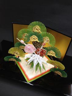 祝雛・・・松竹梅 #japan #mizuhiki #wedding #yuino#fukuoka#hakata