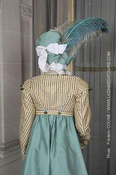 Tenue d'après midi (1811) robe et spencer