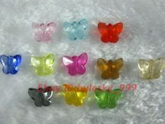 Make butterfly bracelets at the party? $3.99 shipped for 100 beads.