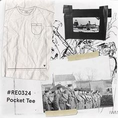 Moodboard for our AW17 includes WW2 US Airborne and training exercises. •• Arnold Pocket Tee in Grey Marl — issue #RE0324. Medium-weight cotton tee, cut in the classic R-E regular fit. Inspired by military training wear, this saddle-seam tee features a self-colour pocket for a comfortable feel and laidback aesthetic. •• #archive #militarian #originalspec #ww2 #commando #frogmen #menswear #realmandempire #loungewear #workwear #militaryinspired #issuenumber #winter #ootd #mensclothing…