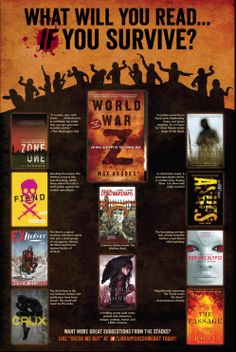 Zombie Reads. *world war z & the passage were great!