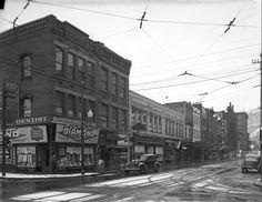 Vintage Johnstown: Line of Shops