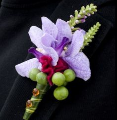 wedding boutonniere flowers, groom boutonniere, groom flowers, add pic source on comment and we will update it. www.myfloweraffair.com