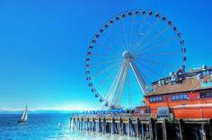 Ride the Ferris Wheel in #Seattle