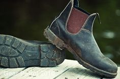"""Gear Patrol on the Blundstone 500 """"they can go from yardwork to cocktail party with equal aplomb."""""""