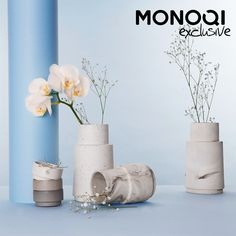 Pure and Simple Danish Porcelain by Nobel Design | MONOQI #bestofdesign