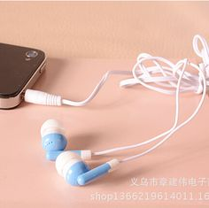 Earphone Headphone For Apple iPod/iPhone/iPad MP3 MP4 Player 3.5mm In-Ear Earphone Headphone FREE SHIPPING E071