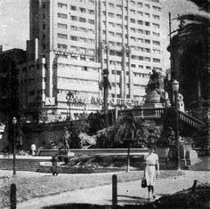 Vale do Anhangabau in 1953 More photos from Sao Paulo ? Click here: www.oldsaopaulo.com