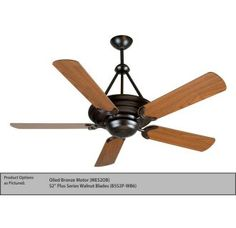 95 best fayette lighting images on pinterest blankets ceilings off metro oiled bronze ceiling fan with 52 inch custom wood cherry blades by craftmade metro brings the urban feel of downtown into your home aloadofball Choice Image
