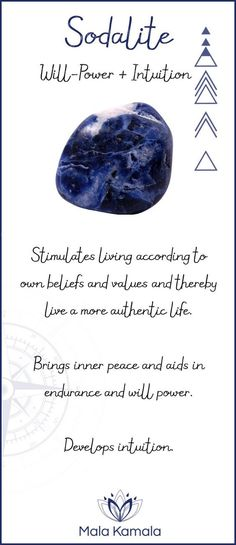 #Sodalite #throatchakra