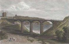 Scarborough England, Northern England, Gallows, North Yorkshire, Coastal, Illustrations, Bridges, Postcards, Transportation