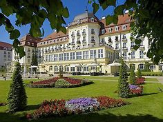 Grand Hotel Sopot Spa Holiday, itinerary and maps. Baltic Travel Company Grand Hotel Sopot Spa holidays in Poland Sopot Poland, Visit Poland, Hotels, Baltic Sea, Ultimate Travel, Grand Hotel, Warsaw, Places To Go, Beautiful Places