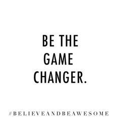 Will you be a #GameChanger? www.maverickinvestorgroup.com #Investing #Motivation