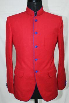 Red Bandh Gala Jacket