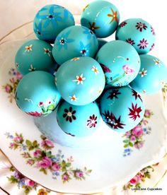 Vintage Blue PoPs by Love Laura Lane, via Flickr