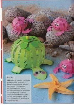 Arts And Crafts, Paper Crafts, Diy Crafts, Art For Kids, Dinosaur Stuffed Animal, Toys, School, Ideas, Early Education