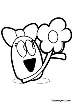 canción de pato pocoyo | party pocoyo | pinterest | pocoyo - Pocoyo Friends Coloring Pages