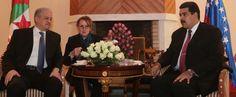 Galería: Así fue el encuentro entre el #Maduro y el primer ministro de #Argelia Abdelmalek Sellal