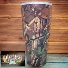 30oz Camo insulated Cup