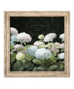 Uttermost La Belle Jardiniere Crop Framed Print
