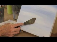 How to Paint with Acrylic Paint: Texturing and Blending