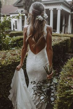 Celebrate your curves in our iconic Rose lace. Cute Wedding Dress, Wedding Dress Trends, Dream Wedding Dresses, Boho Wedding, Bridal Dresses, Natural Wedding Dresses, Fashion Wedding Dress, Wedding Hair Roses, Ball Gown Wedding