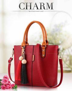 DIZHIGE Brand Fashion Tassel Shoulder Bag High Quality PU Leather Bags Women Handbags Designer Ladies Hand Bags Luxury Sac 2016   Read more at Bargain Paradise : http://www.nboempire.com/products/dizhige-brand-fashion-tassel-shoulder-bag-high-quality-pu-leather-bags-women-handbags-designer-ladies-hand-bags-luxury-sac-2016/