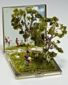 Kendal Murray Surreal Miniature Worlds in Everyday Objects.