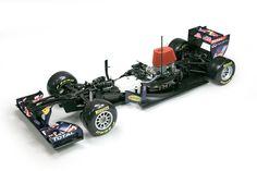 1:7 Red Bull RB7 scale model Formula 1 car