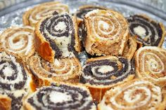 IMGP3015 Romanian Desserts, Romanian Food, Romanian Recipes, Mac, Waffles, Sweet Treats, Bakery, Good Food, Food And Drink