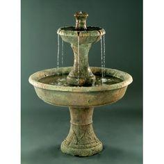 Als Garden Art My favorite fountain So European yet rustic