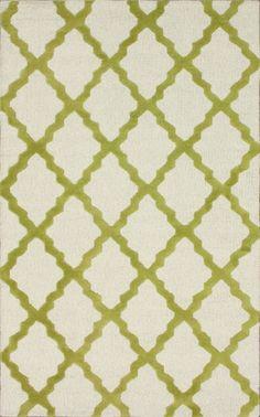 Homespun Moroccan Trellis Charcoal Rug | Contemporary Rugs